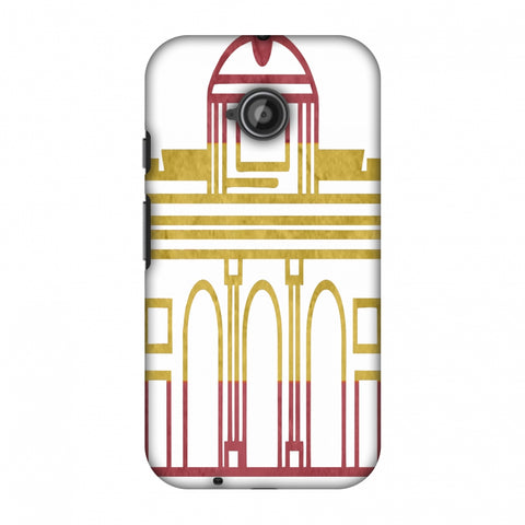 Puerta De Toledo - Spain Flag Slim Hard Shell Case For Motorola Moto E 2nd Gen