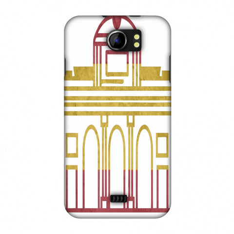Puerta De Toledo - Spain Flag Slim Hard Shell Case For Micromax Canvas 2 A110