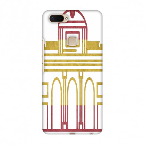 Puerta De Toledo - Spain Flag Slim Hard Shell Case For Vivo X20 Plus