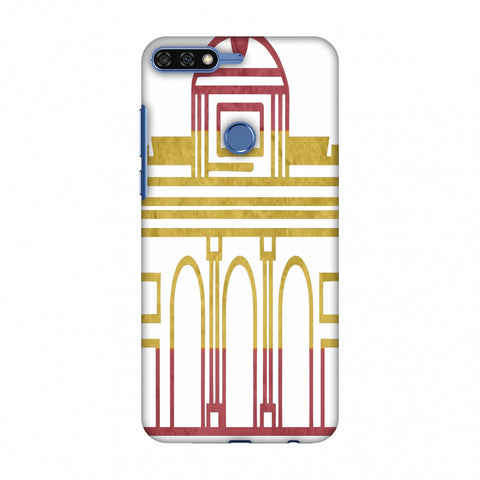 Puerta De Toledo - Spain Flag Slim Hard Shell Case For Huawei Honor 7C
