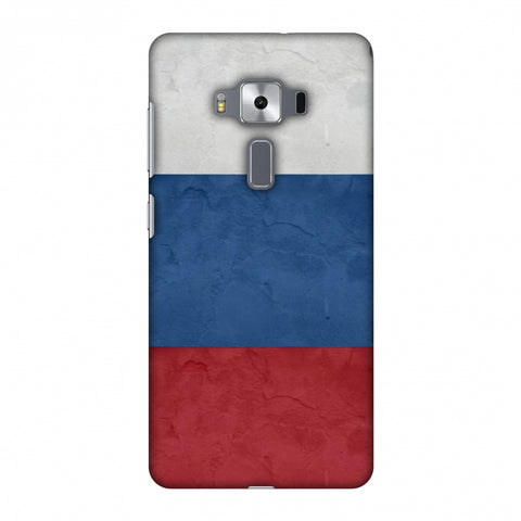 Russia Flag - Textures Slim Hard Shell Case For Asus Zenfone 3 Deluxe ZS570KL