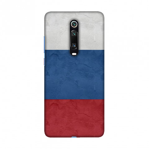 Russia flag- Textures Slim Hard Shell Case For Redmi K20/K20 Pro