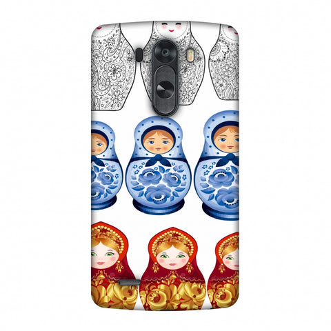 Matryoshka Dolls - Russia Flag Slim Hard Shell Case For LG G4