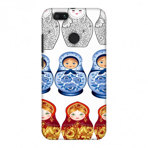 Matryoshka Dolls - Russia Flag Slim Hard Shell Case For Xiaomi MI A1-5X