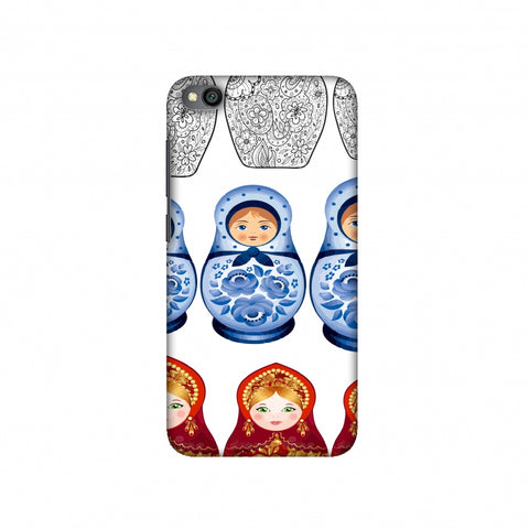 Matryoshka dolls- Russia flag Slim Hard Shell Case For Redmi Go