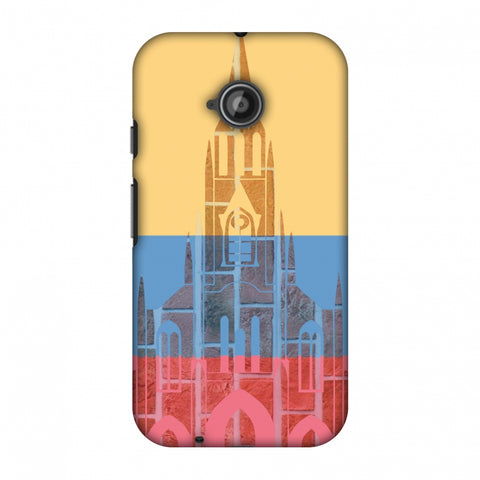 Santiago De Cali - Colombia Flag Slim Hard Shell Case For Motorola Moto E 2nd Gen