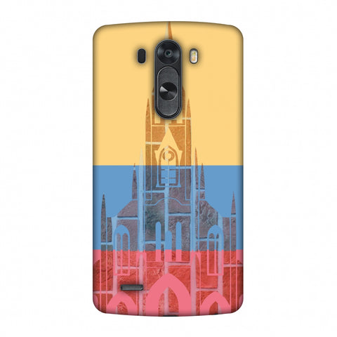 Santiago De Cali - Colombia Flag Slim Hard Shell Case For LG G4