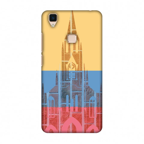 Santiago De Cali - Colombia Flag Slim Hard Shell Case For Vivo V3