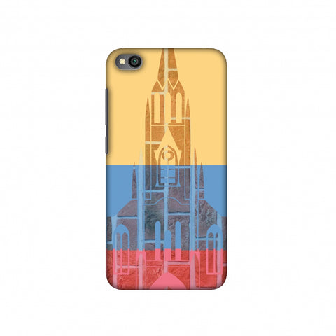 Santiago De Cali- Colombia flag Slim Hard Shell Case For Redmi Go