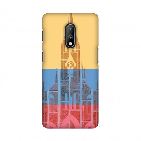 Santiago De Cali- Colombia flag Slim Hard Shell Case For OnePlus 7