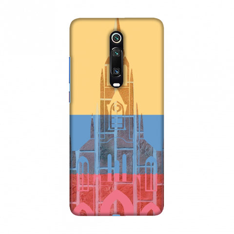Santiago De Cali- Colombia flag Slim Hard Shell Case For Redmi K20/K20 Pro