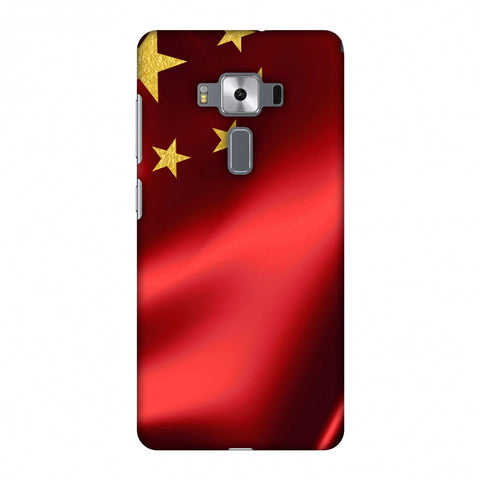 China Flag - Silk LAnd Slim Hard Shell Case For Asus Zenfone 3 Deluxe ZS570KL