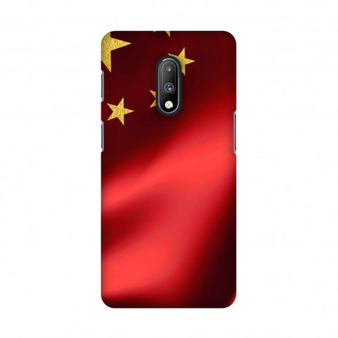 China flag- Silk land Slim Hard Shell Case For OnePlus 7