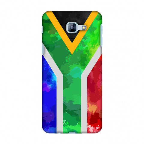 South Africa Flag - Textures Slim Hard Shell Case For Samsung Galaxy A8 2016