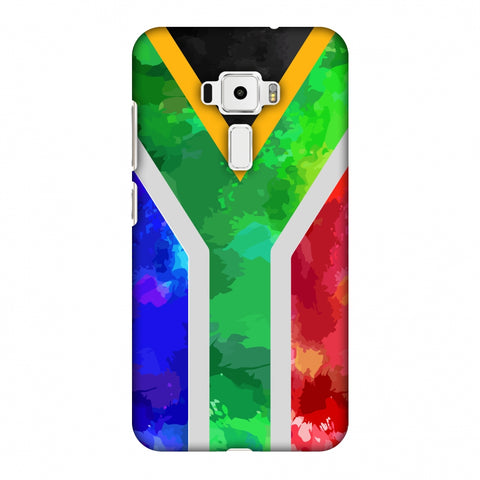 South Africa Flag - Textures Slim Hard Shell Case For Asus Zenfone 3 ZE520KL