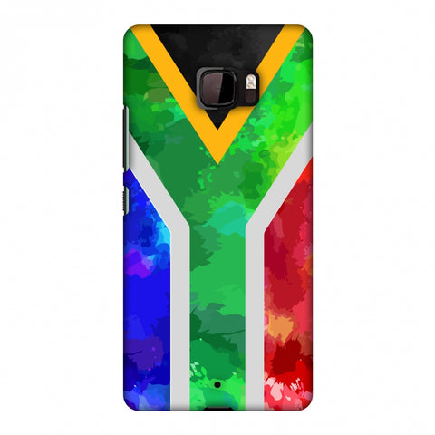 South Africa Flag - Textures Slim Hard Shell Case For HTC U Ultra