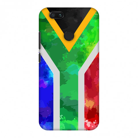 South Africa Flag - Textures Slim Hard Shell Case For Xiaomi MI A1-5X