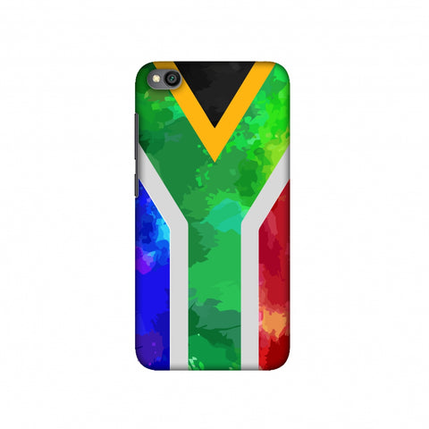 South Africa flag- Textures Slim Hard Shell Case For Redmi Go
