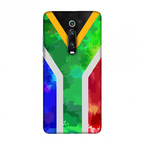 South Africa flag- Textures Slim Hard Shell Case For Redmi K20/K20 Pro