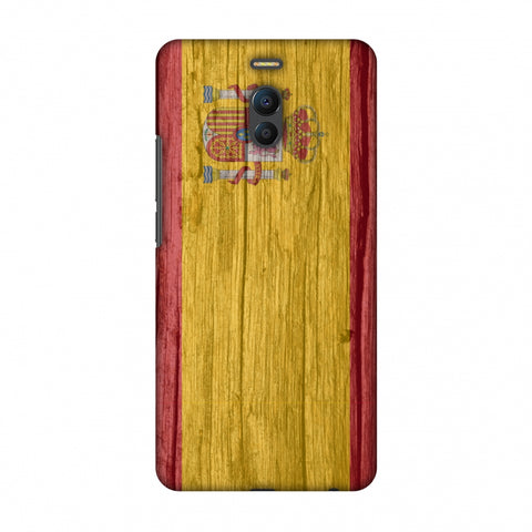 Spain Flag - Wood Textures Slim Hard Shell Case For Meizu Note 6