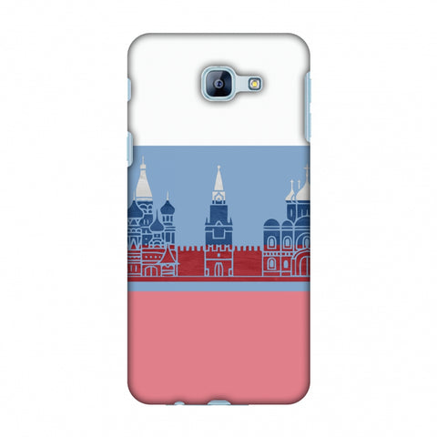 St.Petersburg - Russia Flag Slim Hard Shell Case For Samsung Galaxy A8 2016