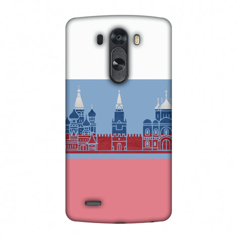St.Petersburg - Russia Flag Slim Hard Shell Case For LG G4