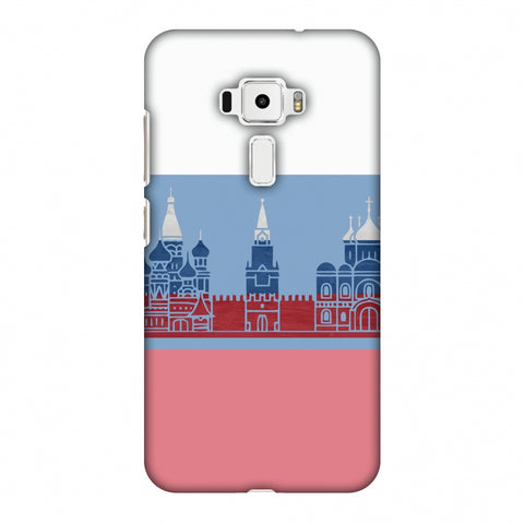 St.Petersburg - Russia Flag Slim Hard Shell Case For Asus Zenfone 3 ZE520KL