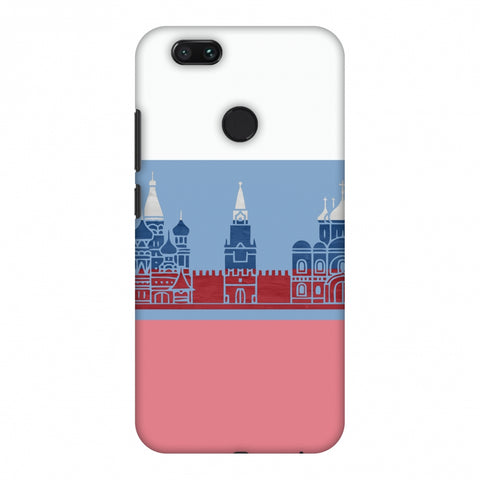 St.Petersburg - Russia Flag Slim Hard Shell Case For Xiaomi MI A1-5X