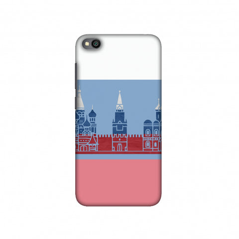St.Petersburg- Russia flag Slim Hard Shell Case For Redmi Go