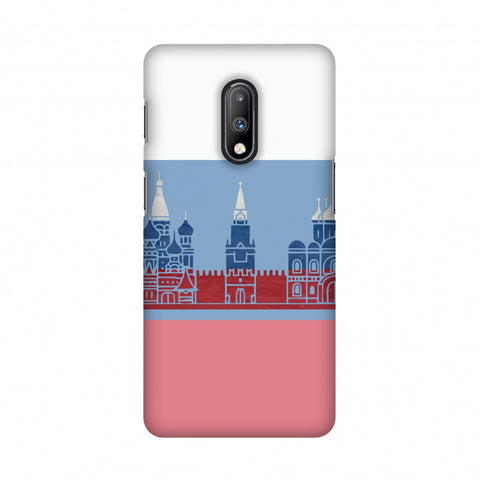 St.Petersburg- Russia flag Slim Hard Shell Case For OnePlus 7