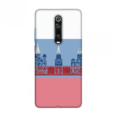 St.Petersburg- Russia flag Slim Hard Shell Case For Redmi K20/K20 Pro