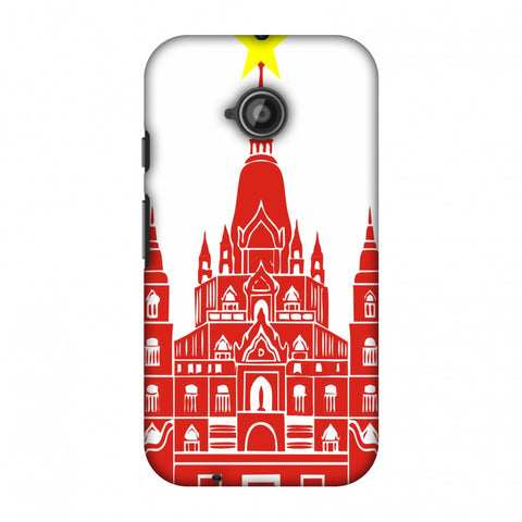 Tan Din Church - Vietnam Flag Slim Hard Shell Case For Motorola Moto E 2nd Gen
