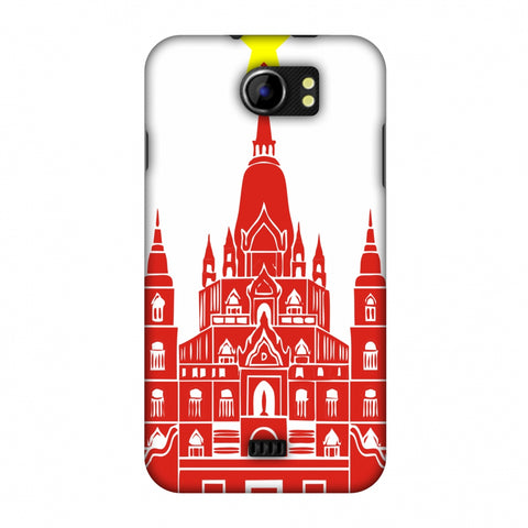 Tan Din Church - Vietnam Flag Slim Hard Shell Case For Micromax Canvas 2 A110