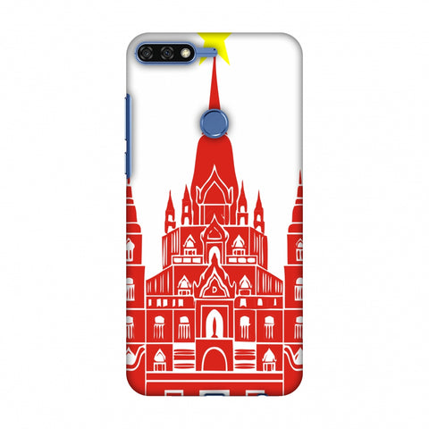 Tan Din Church - Vietnam Flag Slim Hard Shell Case For Huawei Honor 7C