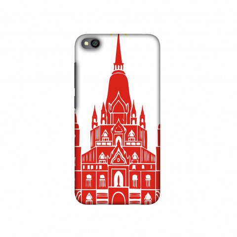 Tan Din Church- Vietnam flag Slim Hard Shell Case For Redmi Go
