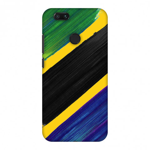 Tanzania Flag - Brush Strokes Slim Hard Shell Case For Xiaomi MI A1-5X