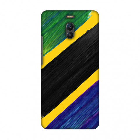 Tanzania Flag - Brush Strokes Slim Hard Shell Case For Meizu Note 6