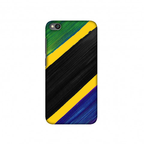 Tanzania flag- Brush strokes Slim Hard Shell Case For Redmi Go
