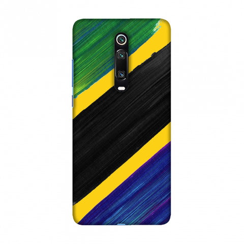 Tanzania flag- Brush strokes Slim Hard Shell Case For Redmi K20/K20 Pro