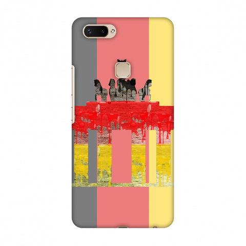 The BrAndenburg Gate - Germany Flag Slim Hard Shell Case For Vivo X20 Plus