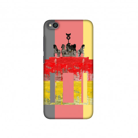 The Brandenburg Gate- Germany Flag Slim Hard Shell Case For Redmi Go