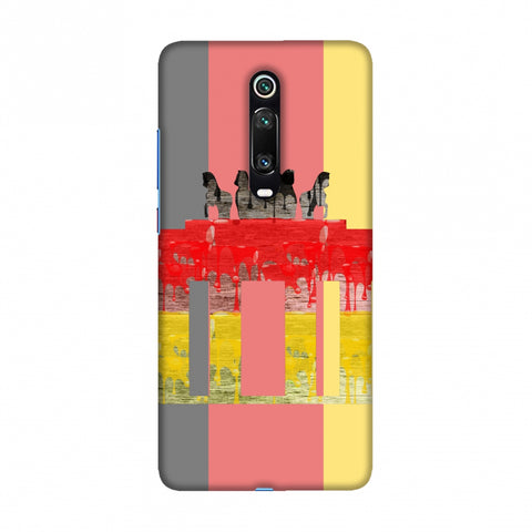 The Brandenburg Gate- Germany Flag Slim Hard Shell Case For Redmi K20/K20 Pro