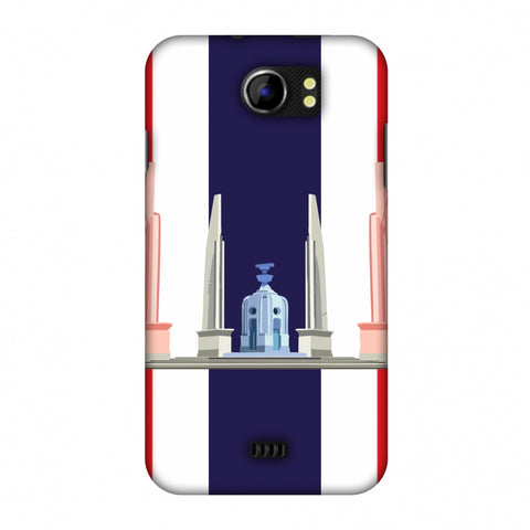 The Democracy Monument - ThailAnd Flag Slim Hard Shell Case For Micromax Canvas 2 A110