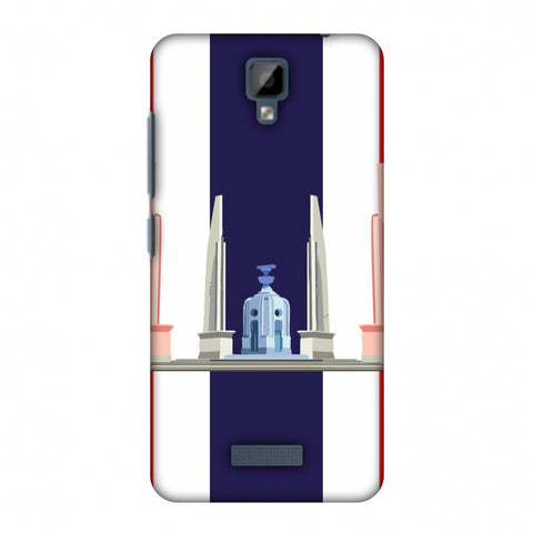 The Democracy Monument - ThailAnd Flag Slim Hard Shell Case For Gionee P7