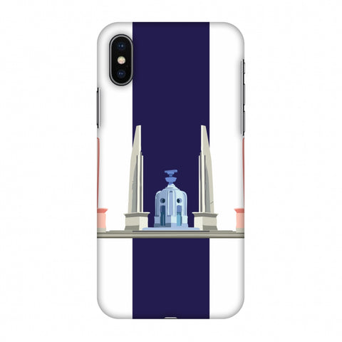 The Democracy Monument - ThailAnd Flag Slim Hard Shell Case For Apple iPhone X