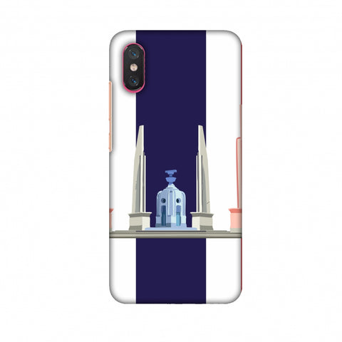 The Democracy Monument - ThailAnd Flag Slim Hard Shell Case For Xiaomi Mi 8 Pro