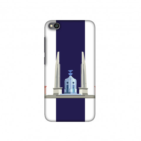 The Democracy Monument- Thailand flag Slim Hard Shell Case For Redmi Go