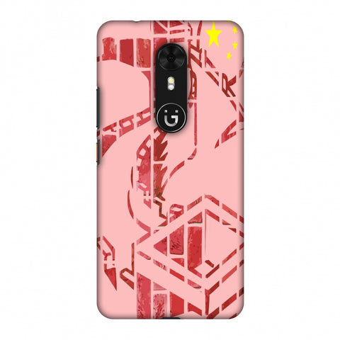 The Great Wall - China Flag Slim Hard Shell Case For Gionee A1