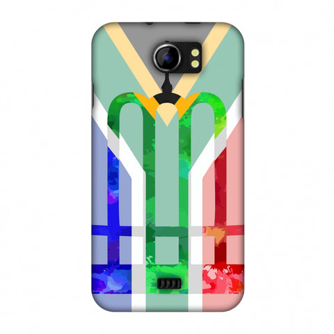 The Huguenot Monument - South Africa Flag Slim Hard Shell Case For Micromax Canvas 2 A110