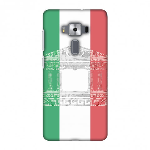 The Pantheon Of Rome - Italy Flag Slim Hard Shell Case For Asus Zenfone 3 Deluxe ZS570KL